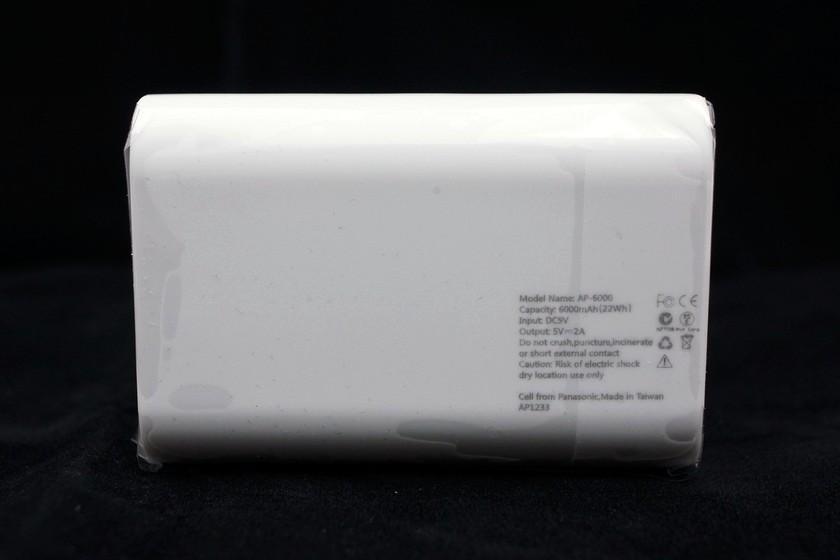 [XF] 潔白美型 行動裝置好幫手 Antec PowerUp 6000 行動電源簡測 - XFastest - DSC09175.JPG