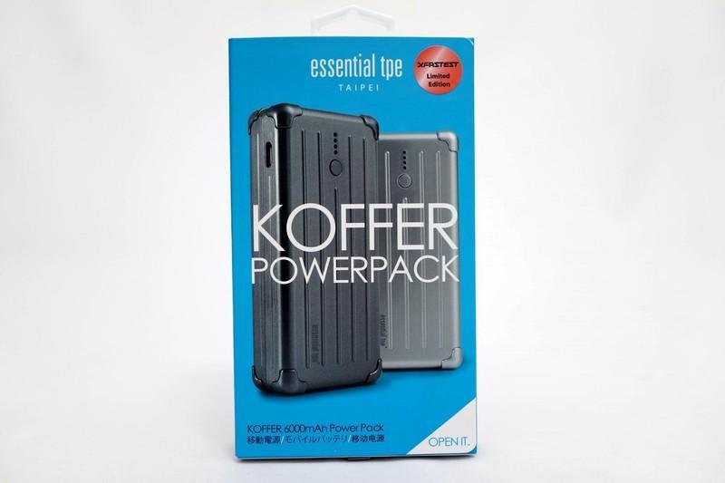 [XF] 質感非凡 3C電力補給站 XF Koffer 6000mAh 行動電源開箱