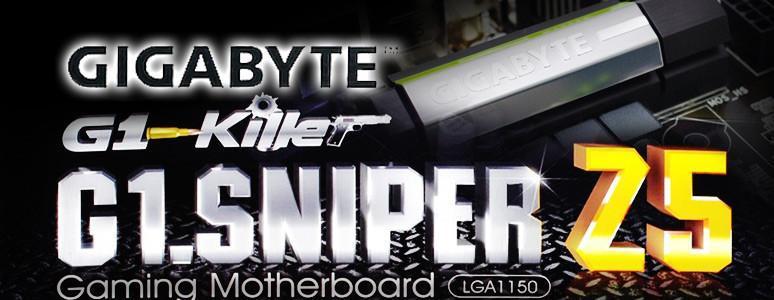 [XF] 聆聽美聲、秒殺對手 GIGABYTE 技嘉 G1.SNIPER Z5