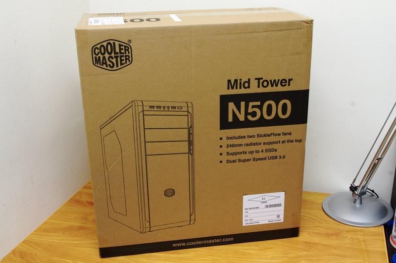 外型中庸內裝不簡單 Cooler Master N500