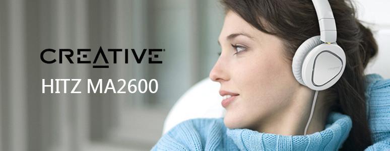[XF] 好聲音帶著走,MOBILE耳罩耳機 CREATIVE HITZ MA2600