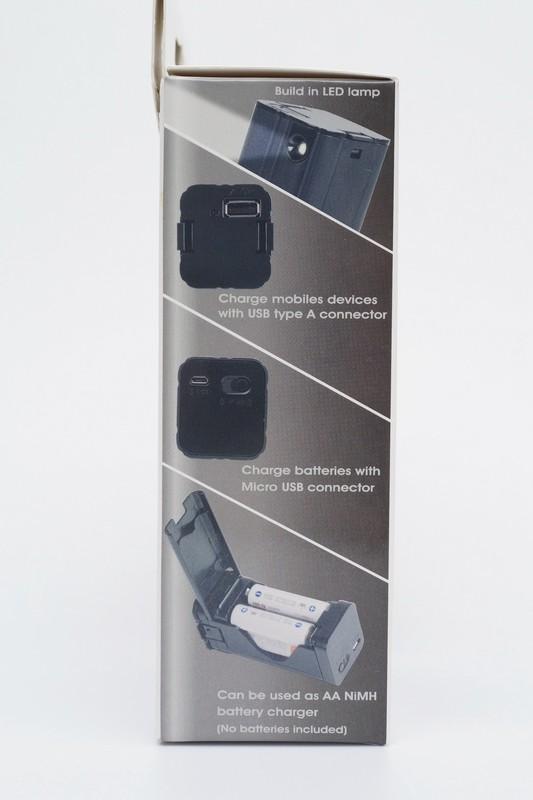 [XF] 解決臨時電力之需  銀欣SST-PB03 緊急LED手電筒行動電源盒