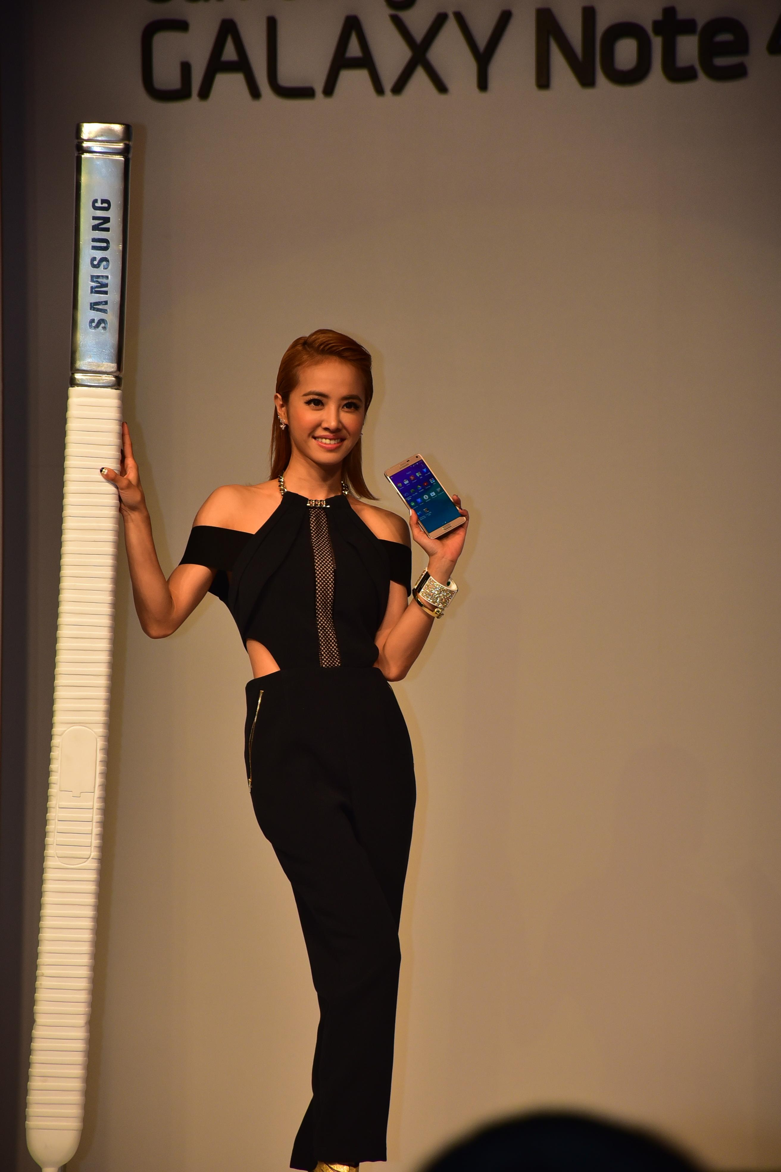 SAMSUNG GALAXY Note 4 with 歌后 蔡依林 !! - XFastest - DSC_2423.JPG