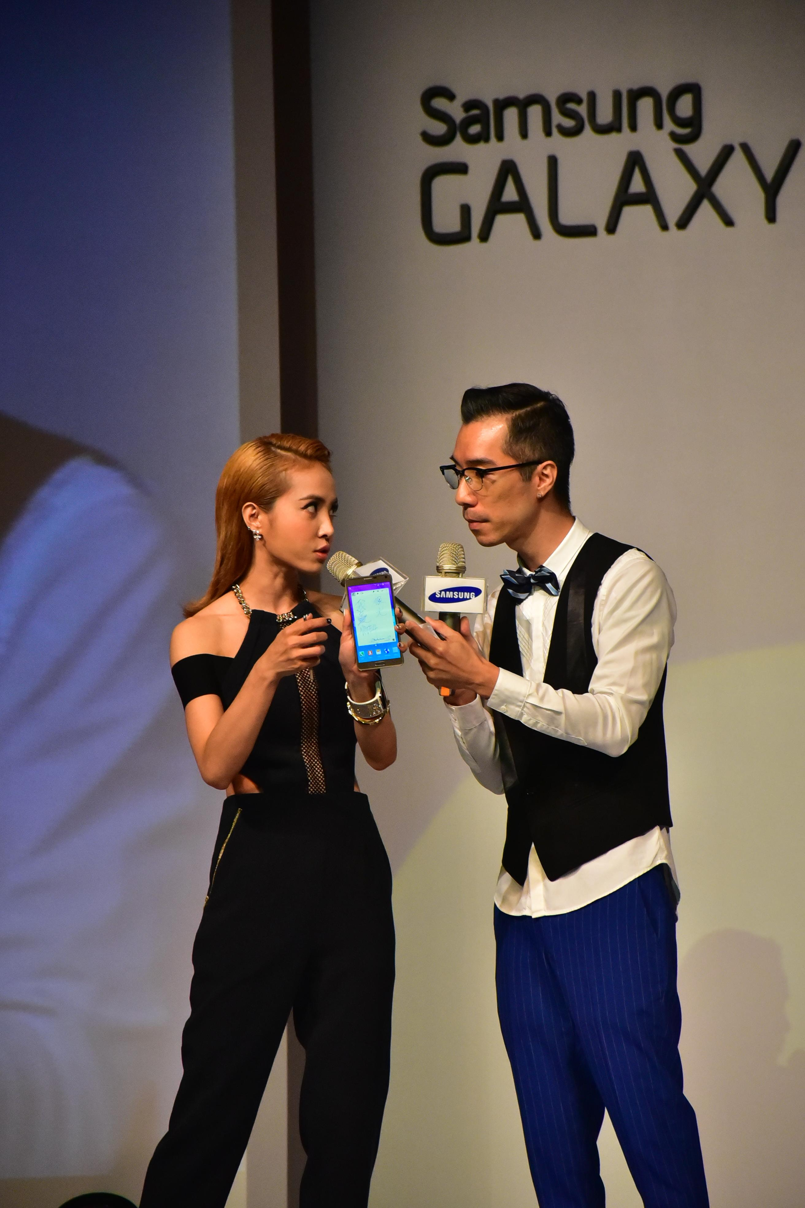 SAMSUNG GALAXY Note 4 with 歌后 蔡依林 !! - XFastest - DSC_2517.JPG