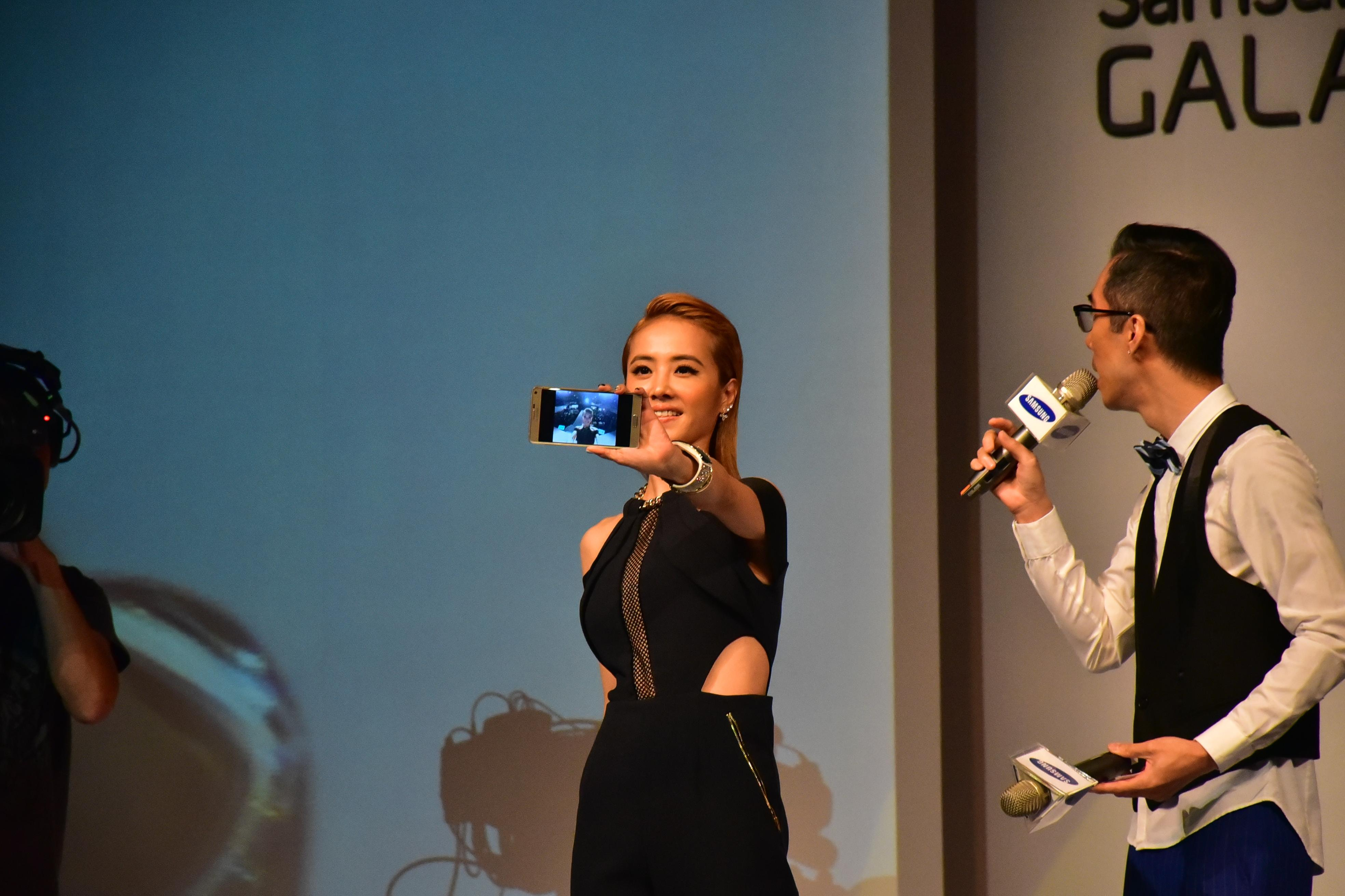 SAMSUNG GALAXY Note 4 with 歌后 蔡依林 !! - XFastest - DSC_2534.JPG