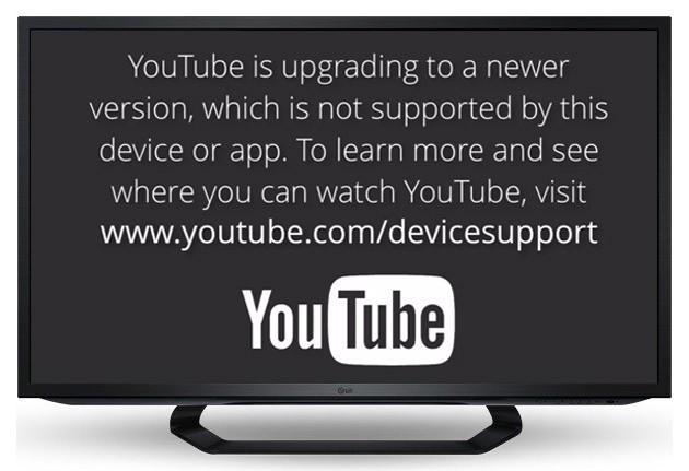 要來的躲不了:YouTube 將不支援舊世代 smart TV 和 iOS 裝置