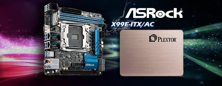[XF]X99之ITX規格主機板,打造迷你多核心效能機,ASRock X99E-ITX/ac開箱