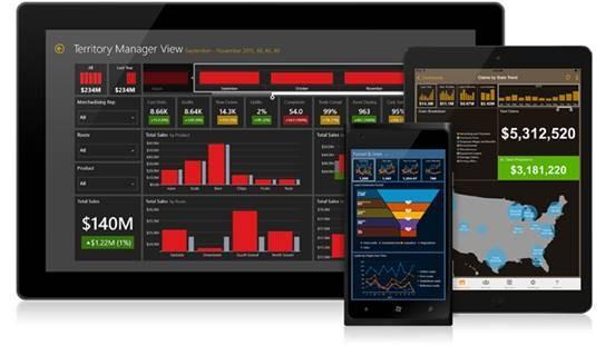 微軟併購行動商業智慧領導廠商Datazen 商業智慧如虎添翼!