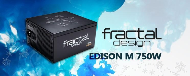 [XF] 高效模組化 用料有水準 Fractal Design EDISON M 750W評測