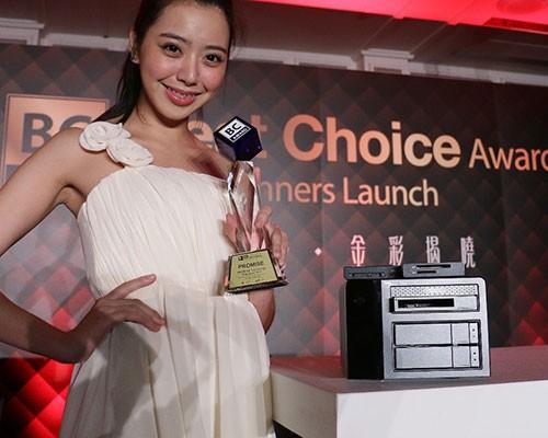 喬鼎資訊以Pegasus2 R2+再次獲得Computex Best Choice Award  連續五年獲獎