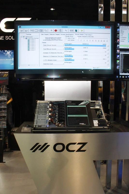 OCZ 美商德可 Computex2015攤位資訊