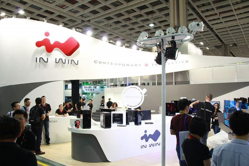 INWIN 迎廣 Computex 2015 攤位採訪