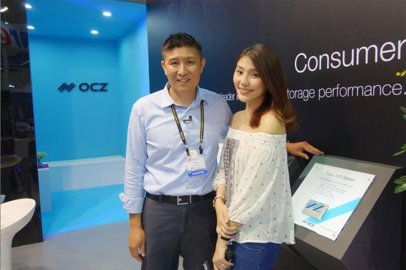 OCZ 美商德可 @  Computex 2015 台北國際電腦展 影音專訪