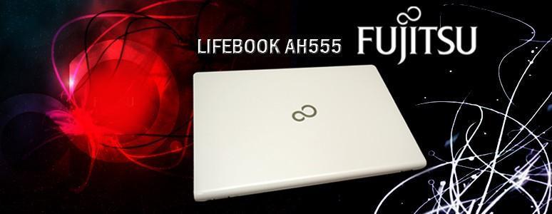 [XF] 娛樂辦公絕對沒問題 Fujitsu 富士通 LIFEBOOK AH555 筆記型電腦