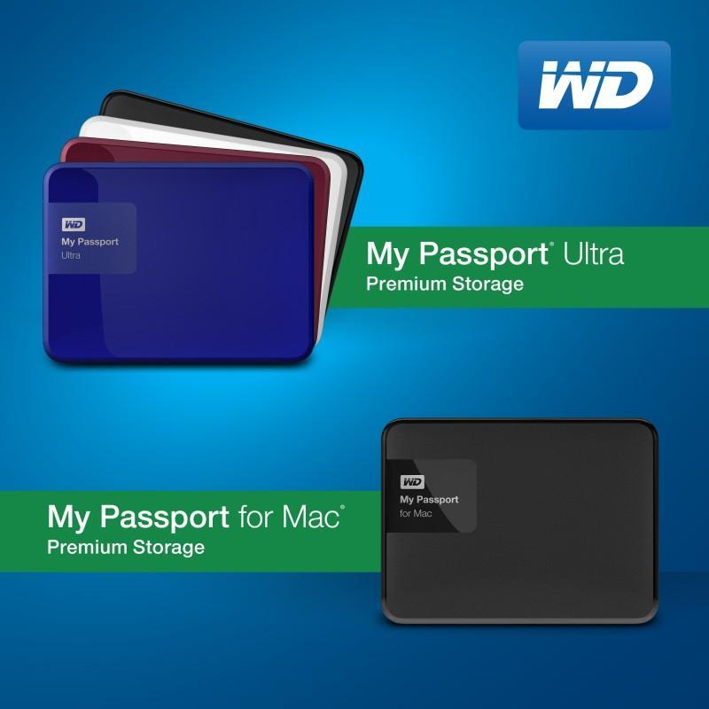WD重新設計世界銷量第一的可攜式硬碟