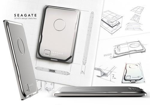 希捷推出全球最薄可攜式硬碟Seagate Seven