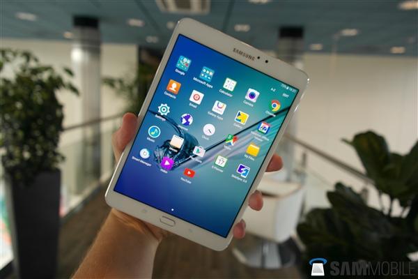 三星发布8.0和9.7英寸版Galaxy Tab S2平板电