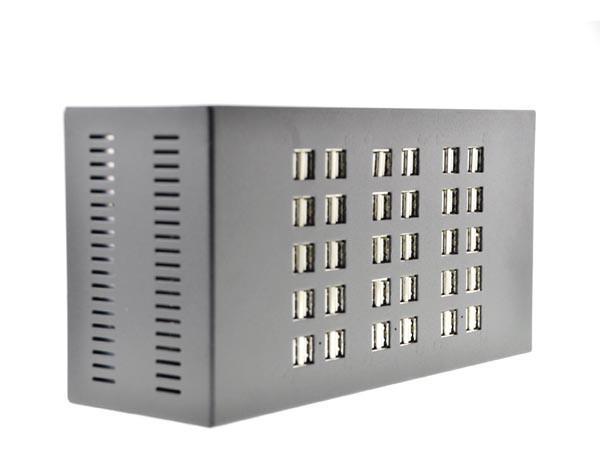 讓你一次充個夠 擁有60個USB埠的充電器