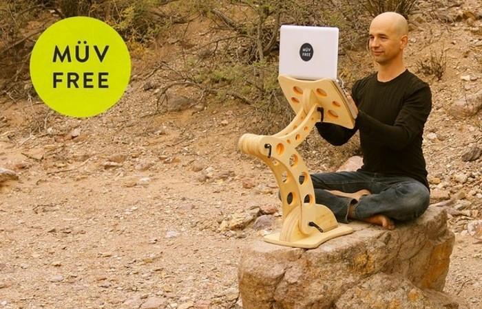 最符合人體工學的筆電支架:立坐躺臥均可