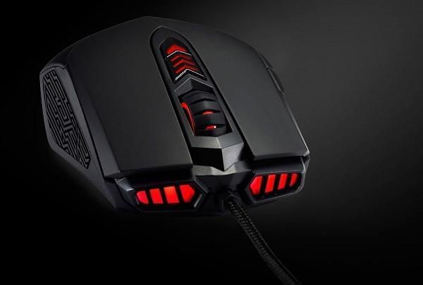 华硕发布ROG GX860 Buzzard游戏鼠标-品外设
