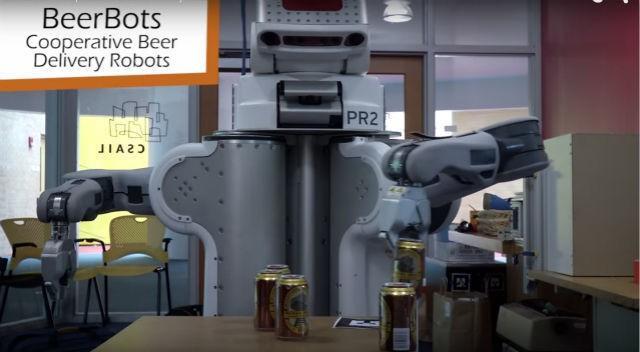 如果見到一個機器人開的酒吧,請不要驚訝!
