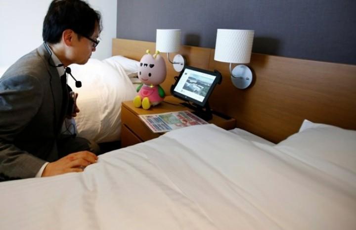 花2000元體驗一次全機器人打理的酒店服務。