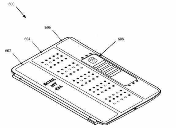 蘋果新專利:iPad保護套內建螢幕