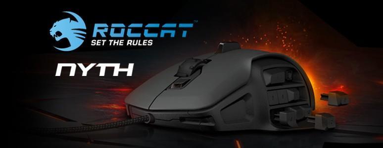 Roccat NYTH - 可自由更換側鍵的多按鍵滑鼠