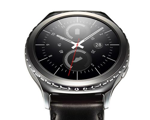 Samsung Gear S2圓形外觀續航力提升