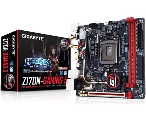 技嘉推出 Z170N-Gaming 5,自家首款 LGA1151 Mini ITX 規格主機板