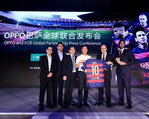 OPPO R7 Plus推出巴薩定製版 梅西簽名版將拍賣