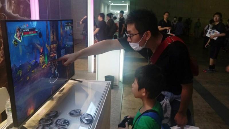 【TGS 15】鈊象電子聯展,最適合親子同樂的遊戲