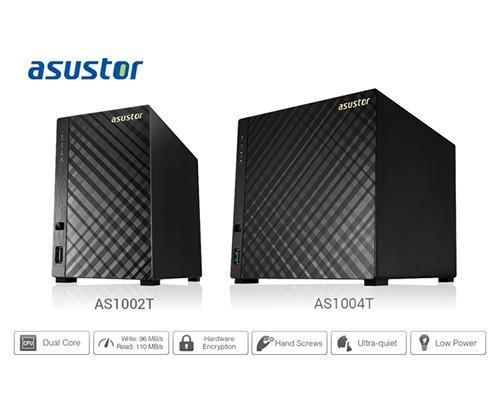 華芸科技發表ASUSTOR 10 系列,時尚黑菱格紋全功能 NAS