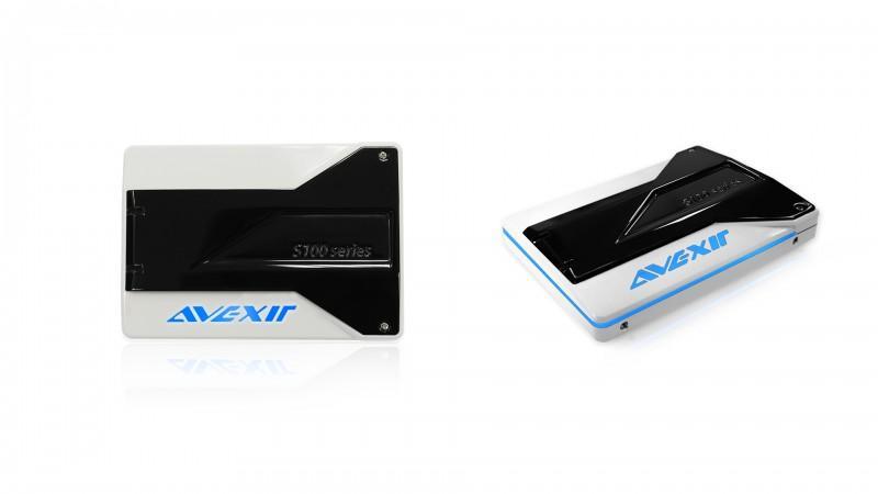 Avexir 宣布推出全新會發光的 S100 系列 SSD