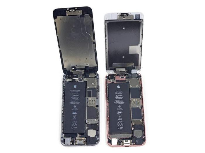 iPhone 6s拆解搶先看 機身加重、電池縮水 都因3D Touch