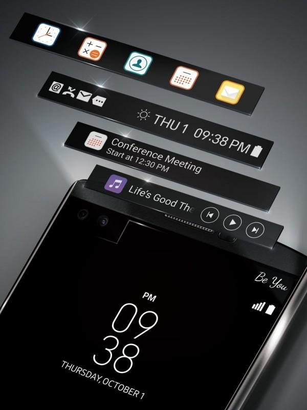 LG V10這部雙螢幕新旗艦,它的副螢幕到底要怎麼玩?