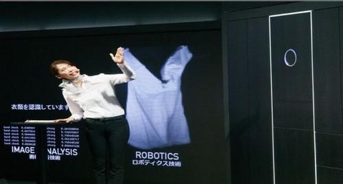 智慧衣櫃亮相:自動疊衣服好神奇!
