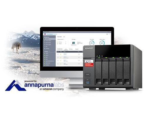 威聯通首款搭載 Annapurna Labs Alpine AL-314 四核處理器、10 GbE 就緒 TS-531P Turbo NAS 搶先曝光