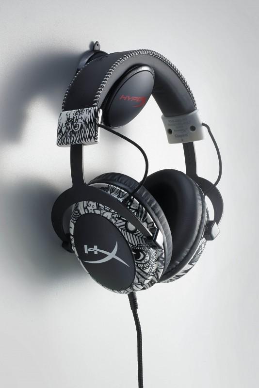 超潮!塗鴉款HyperX Cloud Mav耳機限量登場