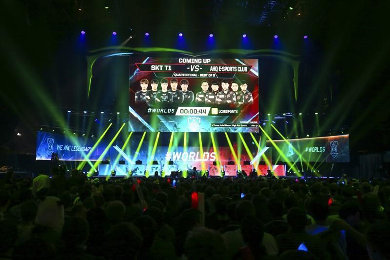 《英雄聯盟》2015世界大賽  韓國 SKT 0敗晉級四強