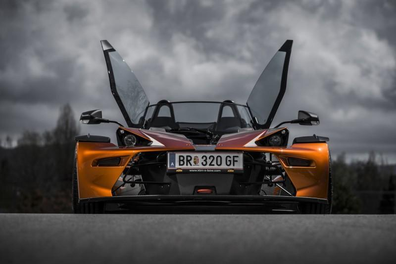 奧地利飆風戰將KTM X-BOW GT 融合重機美學與方程式賽車DNA