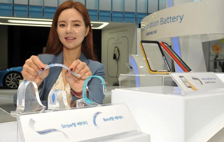 黑科技!三星最新柔性電池能提升50%續航