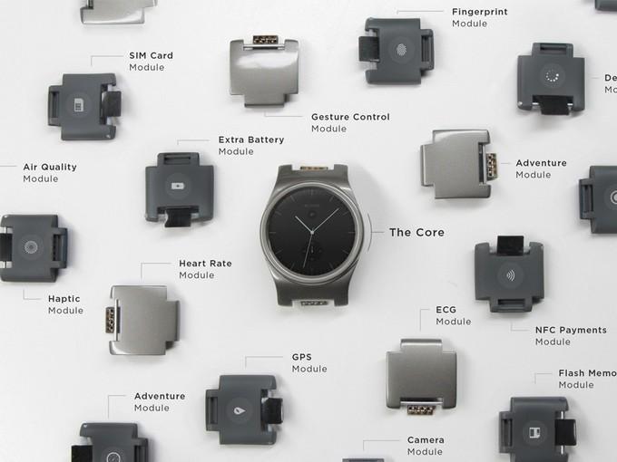 Blocks智慧手錶在IoE Day展出 穿戴式裝置也模組化
