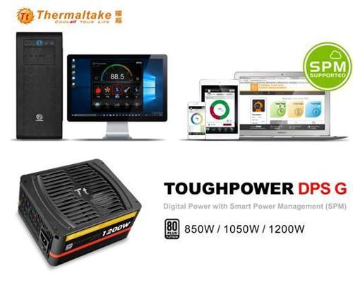曜越Toughpower DPS G白金牌 雲端智慧電源系列搭配SPM雲端智慧電源管理平台(Smart Power Management)
