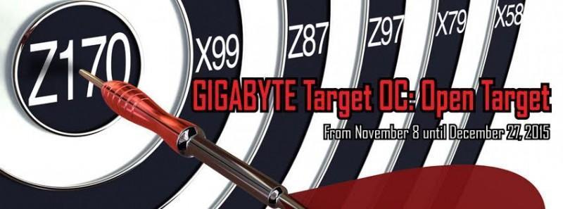 技嘉最新一季Target OC: Open Target 超頻挑戰賽即將開跑