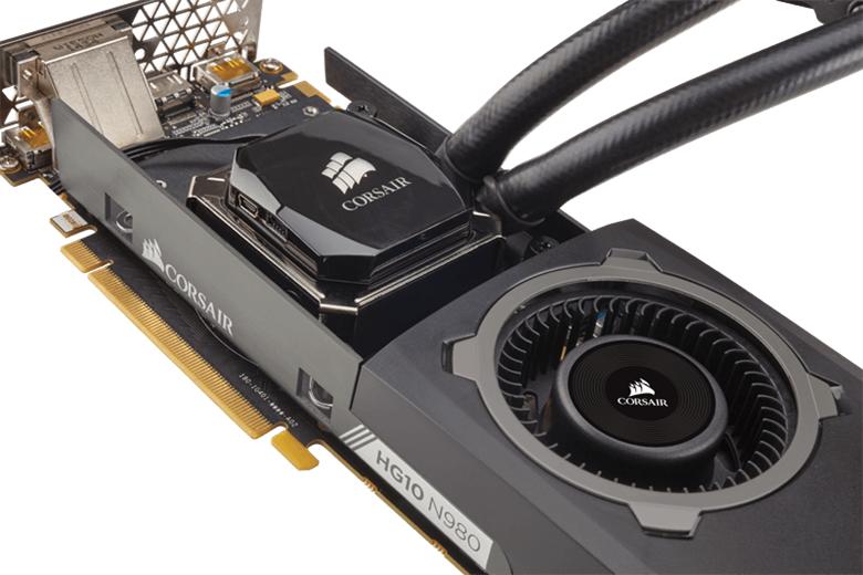 海盜Corsair推出 Hydro HG10 N980和HG10 N970水冷支架讓一體式CPU散熱器變身