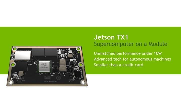 NVIDIA推出Jetson TX1開發板 如信用卡般大