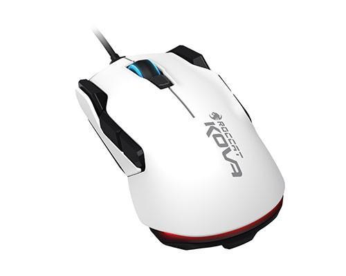 全新Kova 電競滑鼠強勢回歸 流線型雙手適用滑鼠,黑白雙色款式供選擇