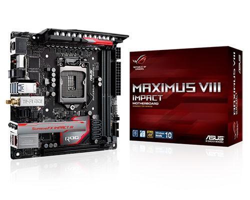 華碩ROG玩家共和國推出全新mini-ITX電競主機板─「Maximus VIII Impact」