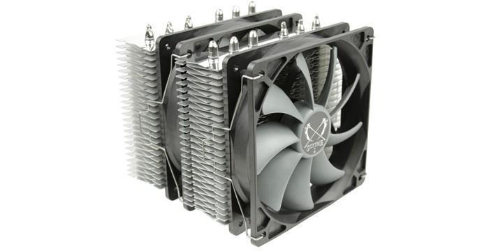 鐮刀SCYTHE推出FUMA雙塔CPU散熱器
